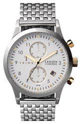 Men's Triwa 'Lansen' Chronograph Bracelet Watch 38Mm