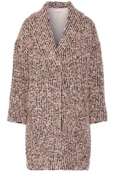 Alice Olivia Ralter Boucle Coat Pastel Pink