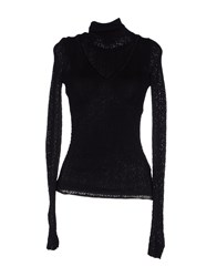 Dandg Knitwear Turtlenecks Women Black