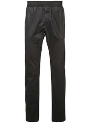 Alyx Straight Leg Textured Trousers Black