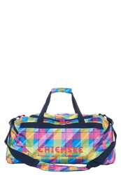 Chiemsee Matchbag Large Sports Bag Plaid Multicoloured