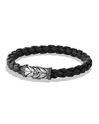 Chevron Bracelet In Black With Black Diamonds David Yurman