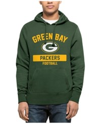 47 Brand '47 Men's Green Bay Packers Gym Issued Hoodie Green Yellow