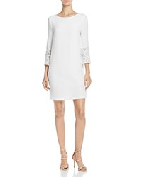 French Connection Ensore Lace Detail Dress Summer White