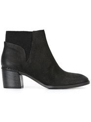 Roberto Del Carlo Elasticated Panel Ankle Boots Black