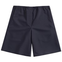 Acne Studios Ari Wool Drawstring Short Blue