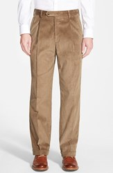 Men's Berle Pleated Corduroy Trousers