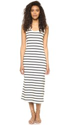 The Lady And The Sailor Seam Midi Dress Nautical Stripe
