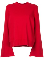 Nobody Denim Belle Sweatshirt Red