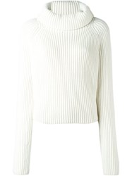Haider Ackermann Turtleneck Jumper White