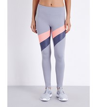 Under Armour Mirror Striped Leggings Steel
