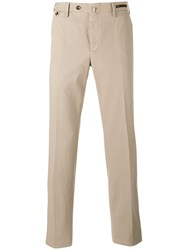Pt01 Tailored Trousers Nude Neutrals