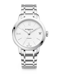 Baume And Mercier Classima Stainless Steel Bracelet Watch Silver