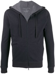 Majestic Filatures Knitted Zip Up Hoodie 60