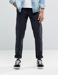 Asos Slim 5 Pocket Trouser In Navy Navy