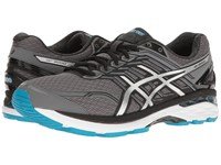 Asics Gt 2000 5 Carbon Silver Silver Blue Men's Running Shoes Gray