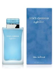 Dolce And Gabbana Light Blue Eau Intense 3.3 Oz. No Color