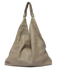 The Row Bindle Leather Tote Bag Light Green