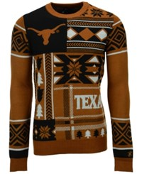 Forever Collectibles Men's Texas Longhorns Patches Christmas Sweater