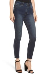 Leith High Waist Ankle Skinny Jeans Dark Wash