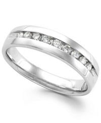 Macy's Men's Diamond Band In 14K White Gold 1 2 Ct. T.W.