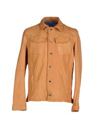 Jacob Cohen Jacob Coh N Coats And Jackets Jackets Men Ochre