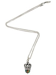 Cantini Mc Firenze Crown Pendant Necklace