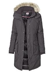 Fat Face Arctic Parka Grey