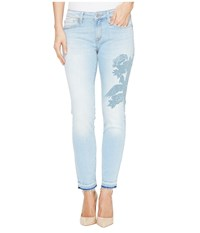 Mavi Jeans Adriana Ankle Mid Rise Skinny In Colored Laser Icon Colored Laser Icon Women's Blue