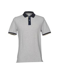 Domenico Tagliente Polo Shirts Grey