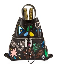 Kenzo Mini Rizo Backpack Female Black