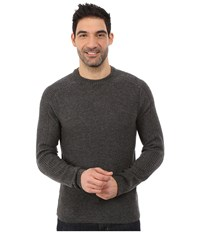 Royal Robbins Fireside Wool Crew Pullover Charcoal Men's Long Sleeve Pullover Gray