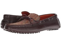 Etro Printed Moccasin Red Shoes