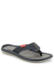 Rider Sandals Dunas Strappy Open Toe Slide Grey Blue