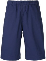 Paul Smith Ps By Bermuda Shorts Men Cotton 32 Blue