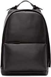3.1 Phillip Lim Black Leather 31 Hour Backpack