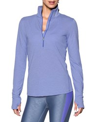Under Armour Stand Collar Long Sleeve Jacket Violet Storm