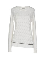 Cappellini By Peserico Sweaters White
