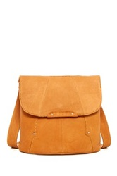 Hobo Rockler Leather Crossbody Beige