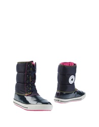 Converse All Star Ankle Boots Dark Blue