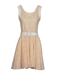 Deby Debo Short Dresses Light Pink