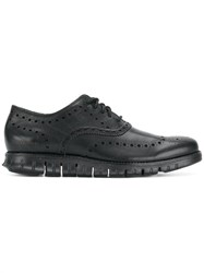 Cole Haan Ridge Sole Oxford Shoes Black