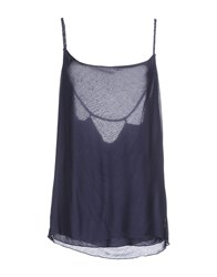 Fred Mello Topwear Tops Women Slate Blue