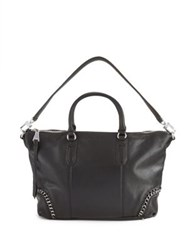 Aimee Kestenberg Genny Leather Satchel Black