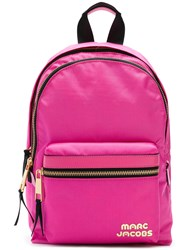 Marc Jacobs Trek Pack Backpack Pink And Purple