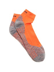 Falke Ru 4 Short Running Socks Orange Multi