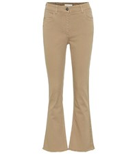 Etro Mid Rise Straight Jeans Beige