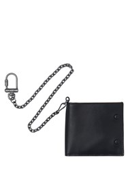 Maison Martin Margiela Leather Wallet With Chain