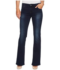 Kut From The Kloth Natalie High Rise Bootcut In Liberating W Euro Base Wash Liberating Euro Base Wash Women's Jeans Blue