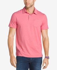 Izod Men's Stretch Performance Polo Rapture Rose